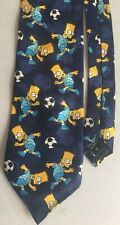 Men's The Simpsons Tie Bart Simpson VGC Vintage