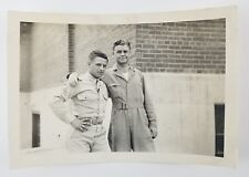 Vintage Photograph 2 Soldiers Arms Around Each Other Gay Interest 1940s