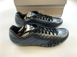 Giro Empire SLX Metallic Charcoal 42 EU / 9 US Cycling Shoes New