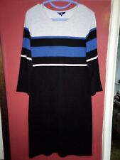 ladies GANT dress size L never worn striped Women's Placed Stripe Dress
