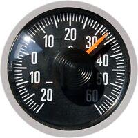 Original RICHTER 1975 Thermometer Bimetall justierbar HR Art. 3512 Magnethalter