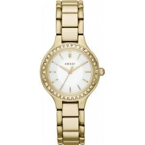 DKNY Women's Chambers Gold Tone Watch