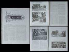 LA CONSTRUCTION MODERNE n°10 1906 KEW, JARDIN, SERRE, ANGLETERRE, PALMARIUM