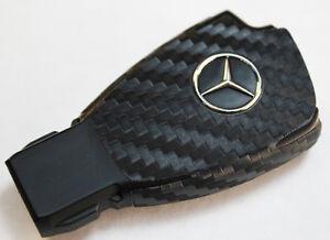 3M Carbon Fiber Wrap for Remote Key Shell Case Mercedes Benz E C R CL GL SL CL