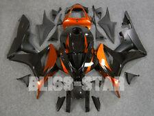 Black Glossy INJECTION Fairing Bodywork Kit Set HONDA CBR600RR 2007-2008 101 B1