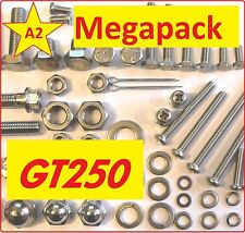 Suzuki GT250 - Nut / Bolt / Washer / Screw / Fastener Stainless A2 MegaPack