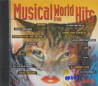 MUSICAL WORLD HITS + CD + 16 starke Hits und die tollsten Melodien + NEU + OVP +