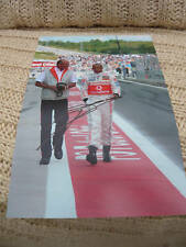 Ron Dennis signed A4 Size  photo