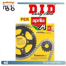 KIT TRASMISSIONE CATENA-CORONA-PIGNONE DID APRILIA ETX 125 DAL 1999 10.1263