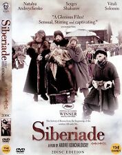 Siberiade (1979, Andrey Konchalovskiy) 2discs DVD NEW