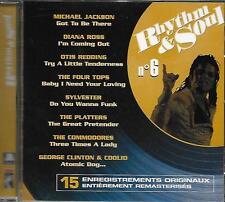 CD album: Compilation: Rhythm & Soul N° 6 . Poligram. P