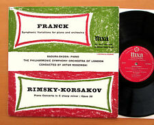WLP 20026 Franck Variations RImsky-Korsakov Piano Concerto Badura-Skoda NIXA VG