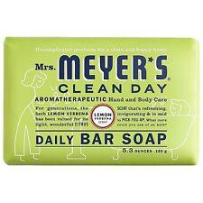 Mrs. Meyers Clean Day Daily Bar Soap, Lemon Verbena 5.3 oz
