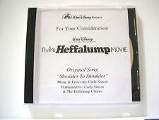 POOH'S HEFFALUMP MOVIE CD Carly Simon FYC BEST ORIGINAL SONG Shoulder to Shouler