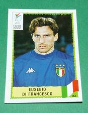 N°180 EUSEBIO DI FRANCESCO ITALIA ITALY ITALIE PANINI FOOTBALL UEFA EURO 2000