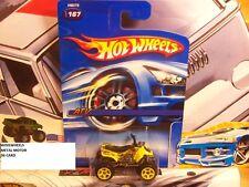 HOT WHEELS 2005 #167 -4 ATV YELLO RED TAMPO 06C