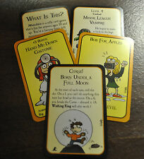 Munchkin Halloween Promo Card Pack Steve Jackson Games John Kovalic Art