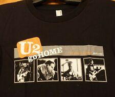 New U2 Go Home Slane Castle Ireland Adult Ladies Black Babydoll T-Shirt Small