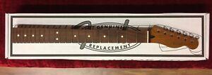 Fender Roasted Maple Tele Telecaster Neck, Slim Charvel Neck Profile, Pau Ferro