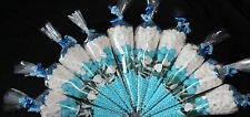 ** Boys Blue Pre Filled Goody Bags Millions Birthday Sweets Party Ribbon Kids **