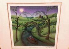 Paul Horton River of dreams Limited ed.print