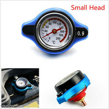 Car Truck Thermo Radiator Cap Cover +Water Temperature Gauge Small head 0.9 Bar