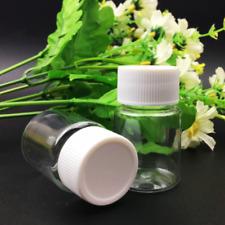 10PCS Plastic Pill Bottles Cap Medicine Container Capsule Case Holder Empty