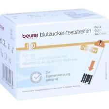 BEURER GL44/GL50 Blutzucker-Teststreifen 100 St