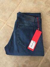 HUGO BOSS Indigo, Dark wash Regular Mid Jeans for Men