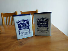 TWO McDougalls Flour Tin Self Rasing - Retro