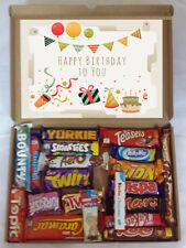 Personalised Gift for Birthday 20 Cadburys Nestle Chocolate Selection Box Hamper