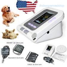 Veterinary Blood Pressure Monitor for cat/dog/animal,3 Cuffs,PC Software CONTEC