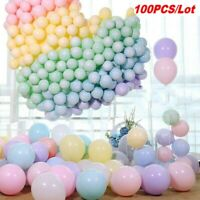 100PC 5Inch Macaron Latex Balloons Baby Shower Birthday Wedding Party Decoration