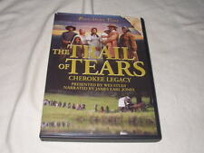 The Trail of Tears: Cherokee Legacy (DVD, 2006) Wes Studi Native American Indian