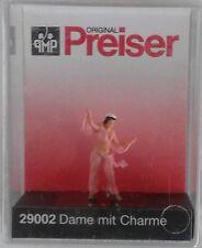 Preiser 29002 Charming Lady Dancer 00/H0 Model Railway Figure