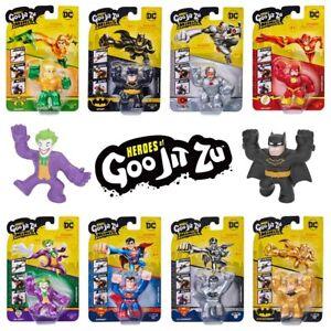 Heroes of Goo Jit Zu Minis - DC Comics Series Mini Figures - Official & Licensed