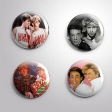 4 WHAM! - Pinbacks Badge Button Pin 25mm 1''