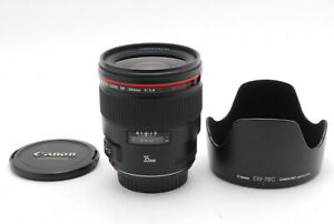 【TOP MINT】Canon EF 35mm f/1.4 L Wide Angle Lens From JAPAN