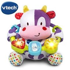 Baby Learning Toys Music Rattle Cuddle Up Beads 3 6 9 Month Kids Plush Toy Cow