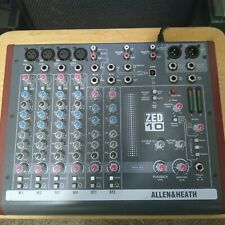 Allen & Heath Zed10 Compact Professional Stereo Mixer Zed-10