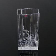 "Tapio Wirkkala 70s ""sointu"" VASO Iittala Finlandia VETRO VASO RARE glass vase ⍐ 16cm"
