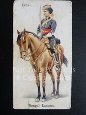 Single BENGAL LANCERS - INDIA 'SOLDIERS of the WORLD' (Ld. Back) Will's 1895