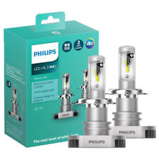 Philips Ultinon LED H4 High/Low Beam Headlight 12V  6200K +160% light bulb