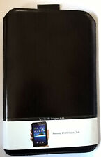 Samsung Galaxy Tab P1000 Echt-Ledertasche Etui Slide schwarzes Leder   bulk