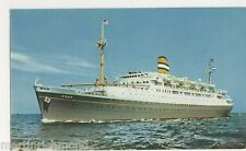 Holland-America Line S.S. Ryndam Shipping Postcard, B566