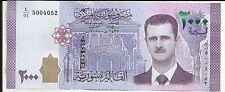 SYRIA 2000 POUNDS  2017  P NEW.  UNC CONDITION.  5RW 26JUL