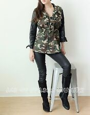Women's 36 Point 5 Vintage Camouflage Army Coat Jackets SZ-L aceofspadescouture