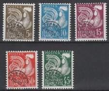 Frankrijk postfris 1957 MNH 1150-1154 - Affranch Postes / Gallische Haan