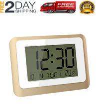 Digital Alarm Clocks for Bedroom, Wall Clock Table for Home Office