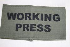 WW2 HOME FRONT ARMBAND WORKING PRESS CORRESPONDENT QUALITY COPY #1